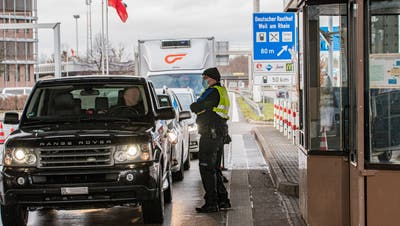 Brauchen Grenzgänger bald einen Coronatest, um einreisen zu können? (Nicole Nars-Zimmer (niz) / BLZ)