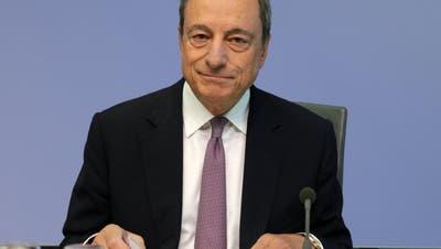 Wird er Italiens neuer Premier? Ex-EZB-Chef Mario Draghi. (Armando Babani / EPA)