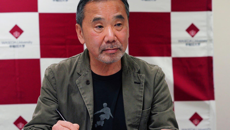 Der japanische Erfolgsautor Haruki Murakami. (Eugene Hoshiko / AP)
