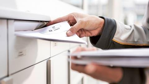 Wird die Post 2030 noch täglich Briefe zustellen? Dies ist mehr als ungewiss. (ZVG)