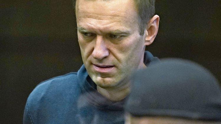Kreml-Kritiker Alexej Nawalny im Gericht: Er muss für Jahre ins Straflager. (Bild: Moscow City Court)