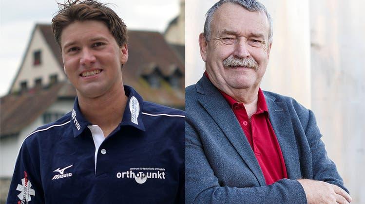 Romano Mombelli und Wolfgang Wagmann kandidieren für den Gemeinderat. (hps/bar)