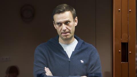 Alexej Nawalny ist vor dem Gericht abgeblitzt. (Keystone)