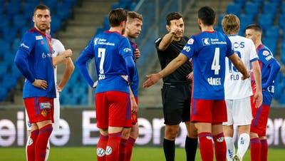 Die Ratlosigkeit nach der Pleite gegen Winterthur war gross. Gelingt dem FCB gegen Lausanne eine Reaktion? (Claudio Thoma / freshfocus)