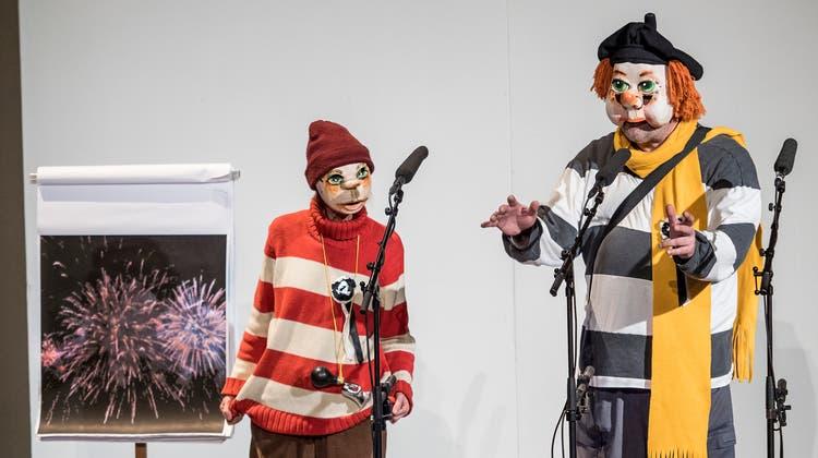 Basler Fasnacht 2019: Comité-Schnitzelbängg 2019 im Stadttheater (Kenneth Nars)