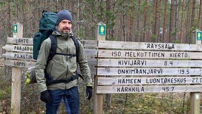 Daniel Amsler ist viel undgerne in der Natur unterwegs. (Zvg)