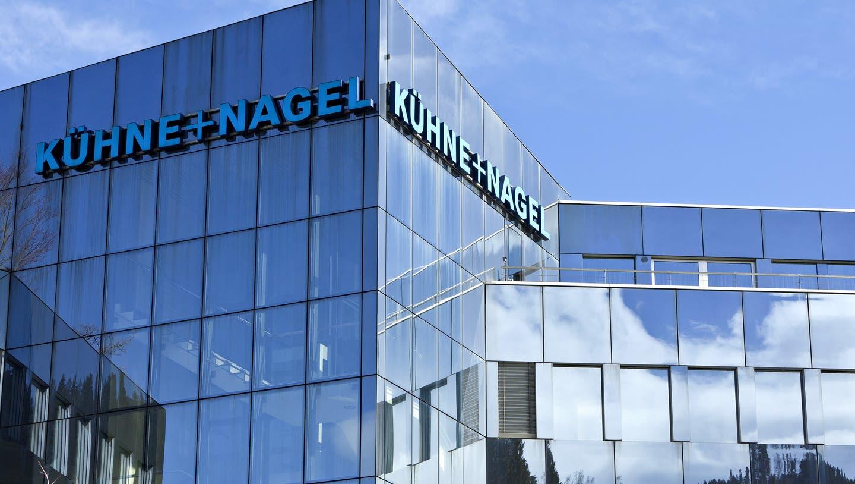 Der Hauptsitz von Kühne+ Nagel befindet sich in Schindellegi SZ. (Martin Ruetschi / KEYSTONE)