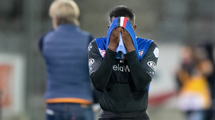 Er konnte sein Können bislang nicht dauerhaft präsentieren, weshalb sich die Wege von Bryan Verboom und dem FC Aarau schon Ende Saison wieder trennen dürften. (Claudio De Capitani / freshfocus)