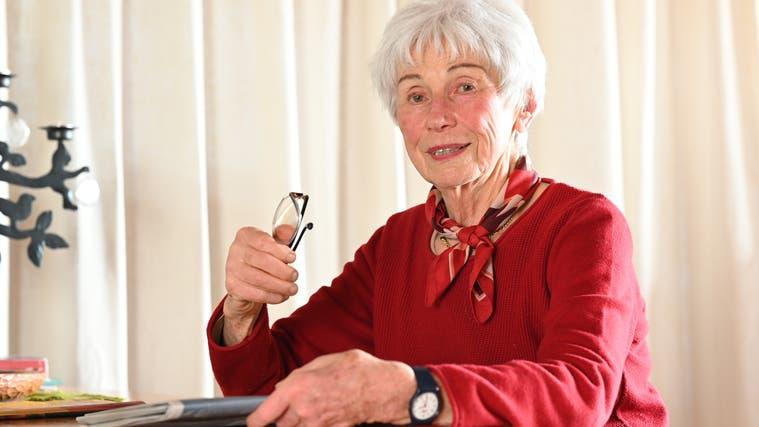Elisabeth Häubi in ihrem Daheim in Lostorf (Bruno Kissling)