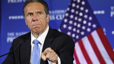 Vom Coronahelden zum Pandemiebeschöniger? New Yorks Regierungschef Andrew Cuomo. (AP)