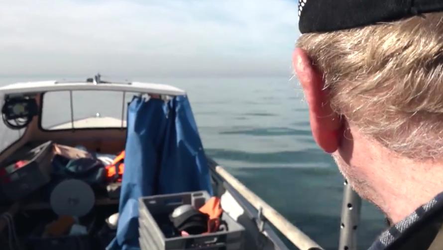 Dieser Berufsfischer rettete den Absturz-Piloten aus dem Bodensee