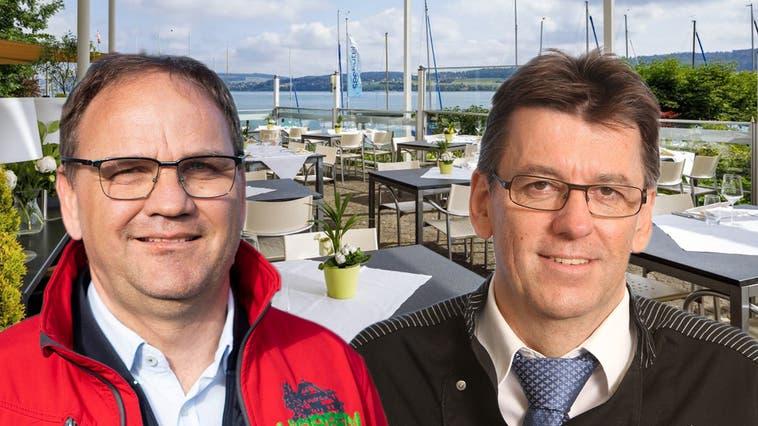 «Offene Terrassen sind für Skirestaurants sinnvoll, aber uns bringen sie nichts», sagt Horben-Wirt Stefan Villiger. (Britta Gut)