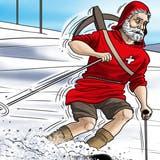 Vorbei an den Gesslerhüten: Die Schweiz fährt eine ganz eigene Linie. (Karikatur: Silvan Wegmann)