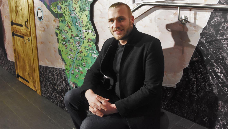 Christof Gasser, Geschäftsleiter der Chääswelt Toggenburg. (Bild: Urs M. Hemm)