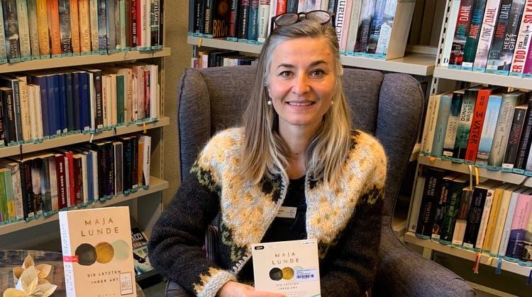 Yvonne Marinoni empfiehlt das Hörbuch «Die Letzten ihrer Art» allen, «die sich für die Natur, Menschen und Tiere interessieren». (Zvg / Limmattaler Zeitung)