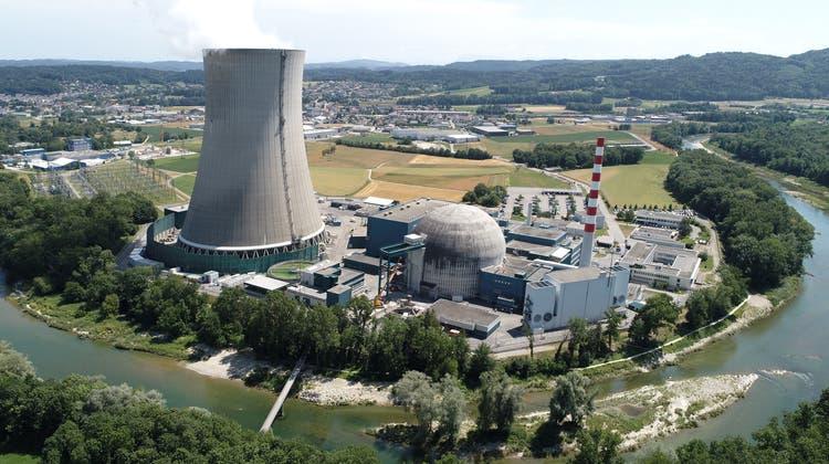 Das Kernkraft- und Wasserkraftwerk Gösgen würde im 100'000-jährigen Hochwasser um etwa 80 Zentimeter überschwemmt. (Bruno Kissling / OLT)