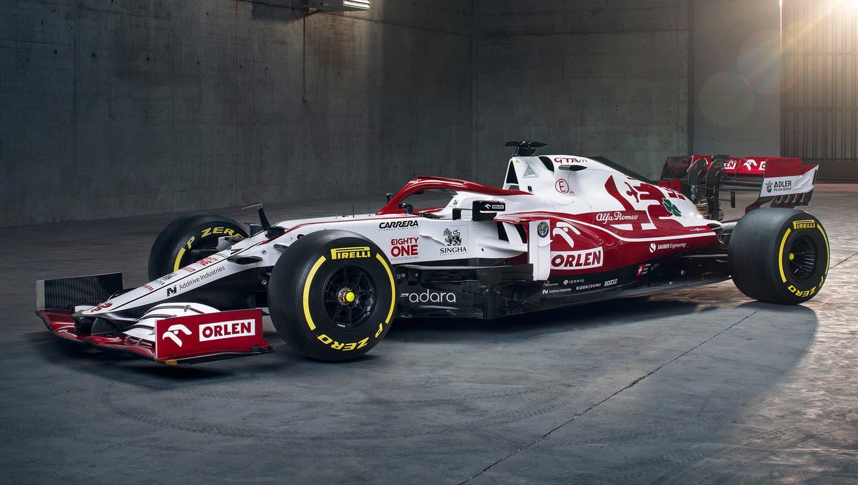 So sieht der neue Alfa-Sauber für die kommende Formel-1-Saison aus