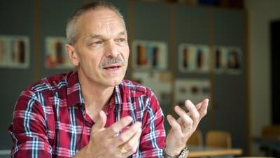 Christoph Stäheli (Schönenberg), Präsident der Volksschulgemeinde Region Sulgen, bewirbt sich um eine weitere Amtsdauer. (Bild: Reto Martin (Sulgen, 28. September 2017))