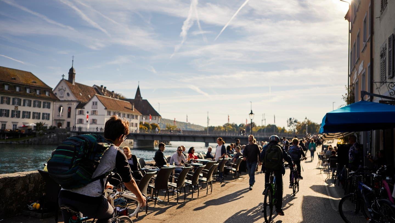 Ob die Aussenbereiche im März öffnen dürfen entscheidet der Bundesrat. (Solothurn Tourismus)