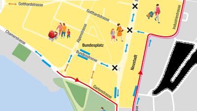 Wie entwickelt sich die Zuger Promenade?
