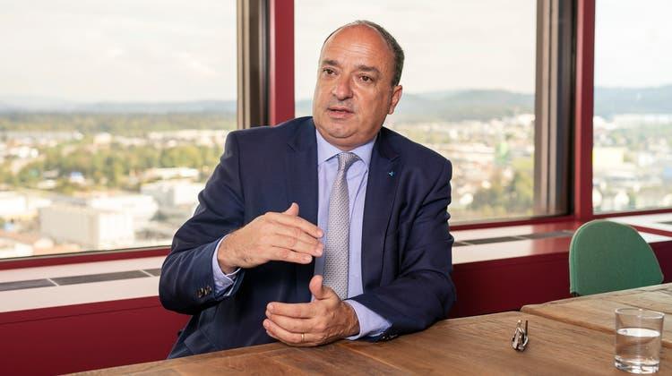 Aargauer Finanzdirektor Markus Dieth sieht neue Steuersoftware als «Meilenstein»