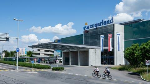 Das Einkaufscenter Zugerland. (Bild: Stefan Kaiser (Steinhausen, 20. Mai 2020))