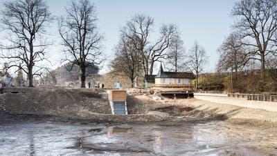 Marcel Spielmann, Fachspezialist Wasserbau beim Tiefbauamt der Stadt St.Gallen. (Bild: Ralph Ribi (23. Februar 2021))