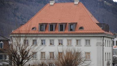 Regieurungsgebäude NW. Stans, 1. Februar 2021. (Urs Hanhart / Urner Zeitung)
