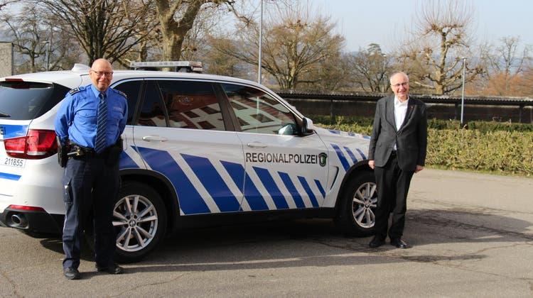 Repol-Chef René Lippuner (links) und Reinhard Scherrer, Präsident des Führungsausschusses. (Louis Probst)