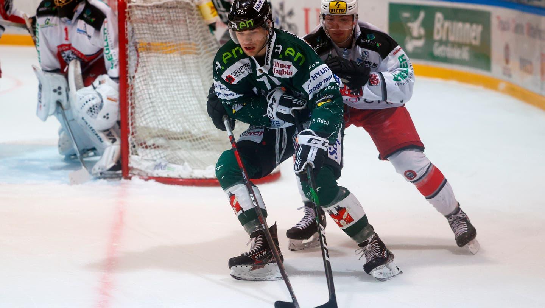 Der EHC Olten empfängt im Kleinholz den EHC Winterthur. Bereits vor einer Woche trafen die Powermäuse auf den gleichen Gegner und gewannen souverän mit 5:2. (freshfocus)