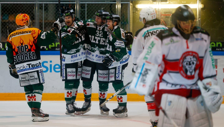 Können Silvan Wyss und seine Teamkollegen gegen Winterthur erneut siegen? (freshfocus)