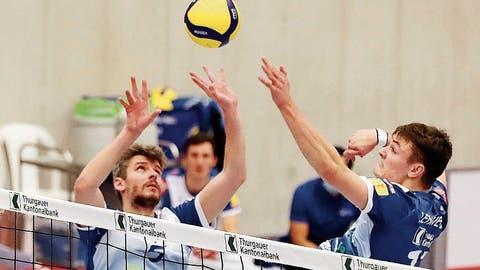 Volley Amriswil steht nach 3:1-Sieg im Playoff-Halbfinal
