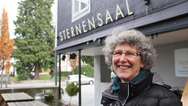 Eva Keller ist die Präsidentin des «Sternensaals», der seit über 30 Jahren in Wohlen für Kultur sorgt. (Andrea Weibel)