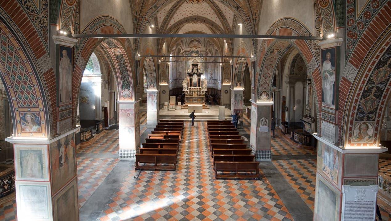 Der beschuldigte katholische Geistliche bekleidete im Bistum Lugano unter anderem das Amt als Generalvikar. (Symbolbild) (Keystone)