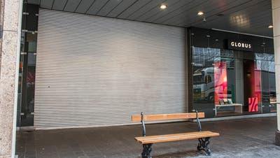 Bis Montag sind viele Läden in der Basler Innenstadt geschlossen. (Bild: Nicole Nars-Zimmer)