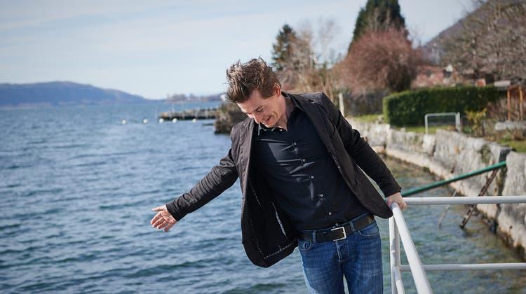 Der Schweizer SchriftstellerArno Camenisch. (Janosch Abel)