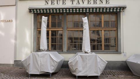 Wenn es die epidemiologische Lage zulässt, dürfen Restaurants ihre Terrassen am 22. März öffnen. (Keystone)