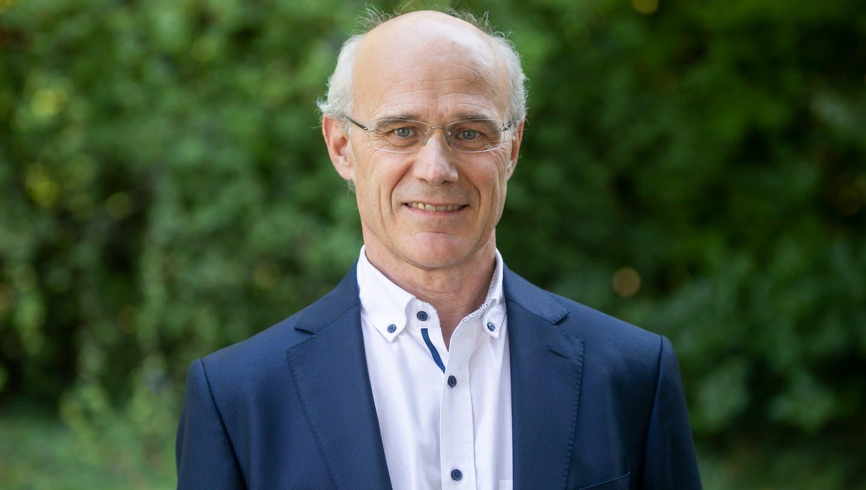 Distanziert sich von offenem Brief: Jürg Lareida, Präsident des Aargauischen Ärzteverbandes. Aufgenommen am 17.09.2020. (Britta Gut)