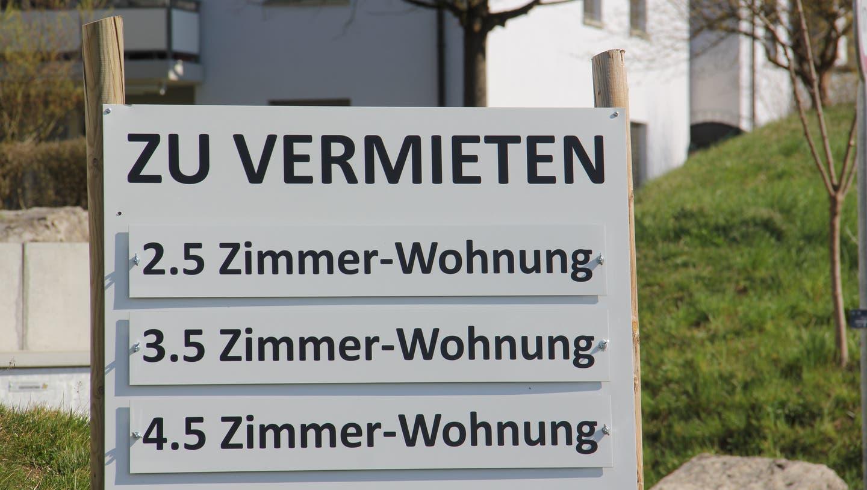 An Mietwohnungen mangelte es im vergangenen Jahr in Schweizer Städten nicht. (Symbolbild) (Claudia Meier)