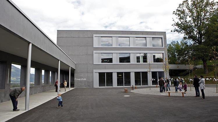 Die Schule in Gamprin. (Bild: Daniel Ospelt)