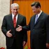 Gute Bekannte: Israels Premier Benjamin Netanjahu und Chinas Präsident Xi Jinping. (Pool / Getty Images AsiaPac)