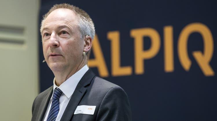 Wie lange bleibt er noch? Verwaltungsratspräsident Jens Alder muss seinen Finanzchef Thomas Bucher verabschieden. (Alexandra Wey / KEYSTONE)