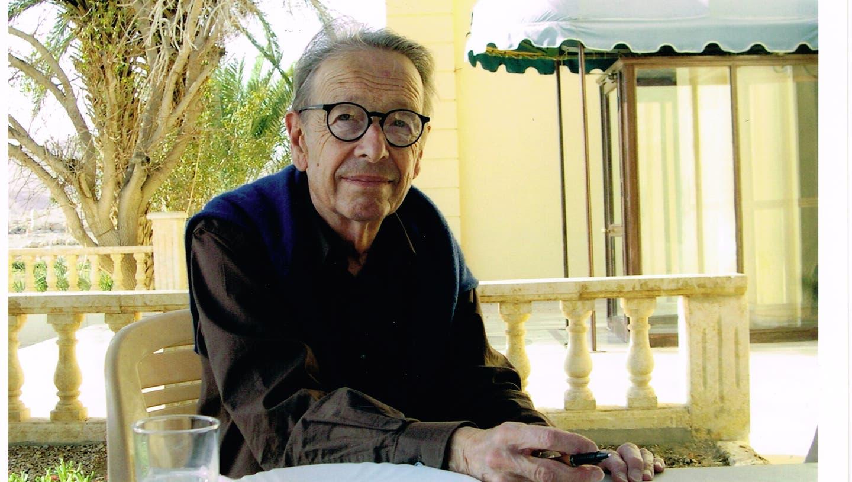 Der Schriftsteller und Übersetzer Philippe Jaccottet. (Foto: Gérard Khoury)