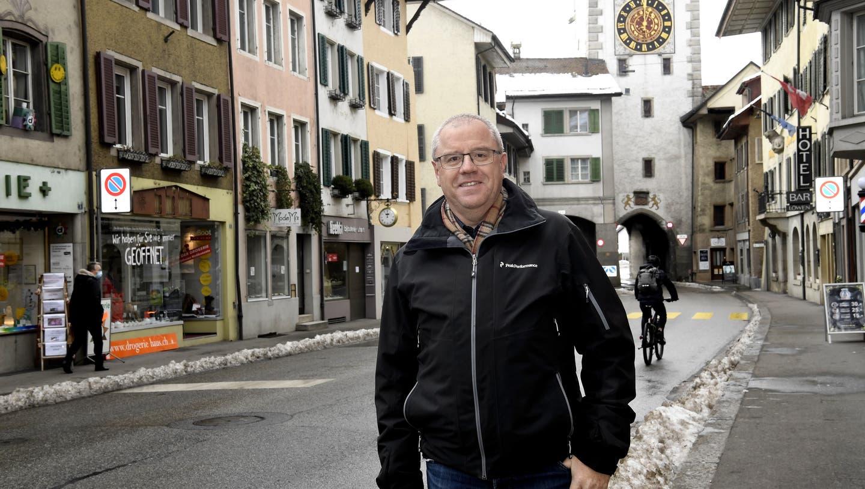Kein «Fusionsturbo»: Mellingens Ammann Bruno Gretener. (Alexander Wagner)