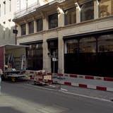 Das Modegeschäft Massimo Dutti in der Freien Strasse hat nach knapp fünf Jahren aufgegeben. Die Rechnung ist nicht aufgegangen. (Roland Schmid)