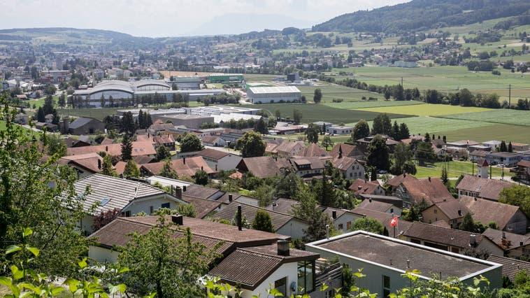 Sicht auf Leimbach, das Dorf mit knapp weniger als 500 Einwohnern. (Britta Gut (25.6.2020))