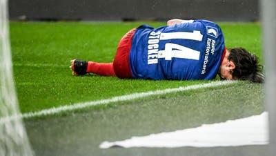 Der FCB hat die Verletzungshexe. Nicht nur Valentin Stocker muss in diesen Tagen wegen Verletzungen pausieren. (Freshfocus)