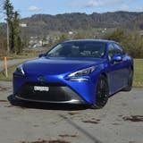 Der neue Toyota Mirai. (Bild: Aeberli)