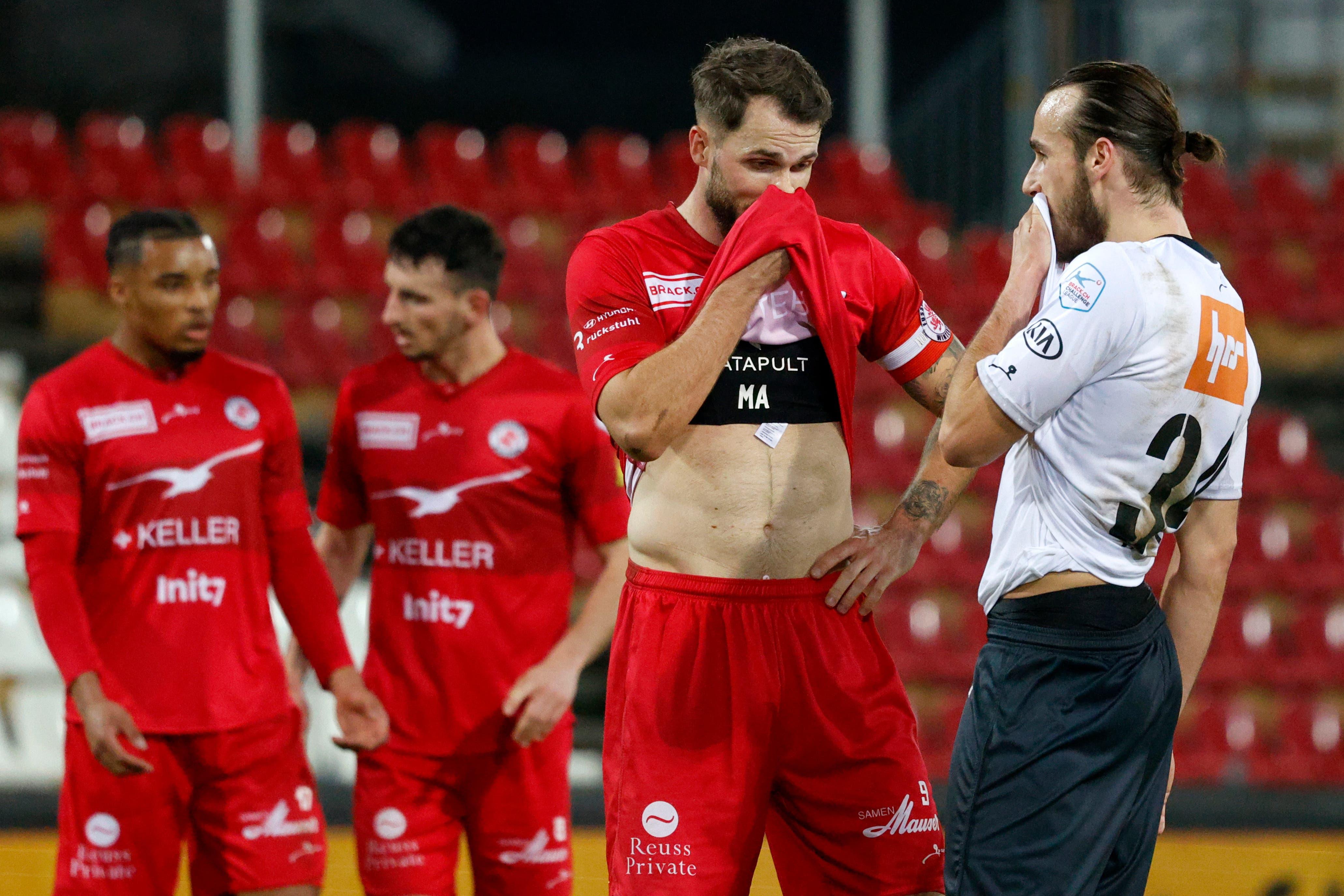 Der FC Winterthur dürfte mit dem Punktgewinn einigermassen zufrieden sein.