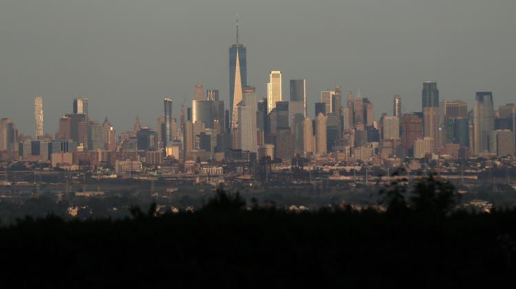 Die Skyline von Manhattan, New York. (Gary Hershorn / Corbis News)